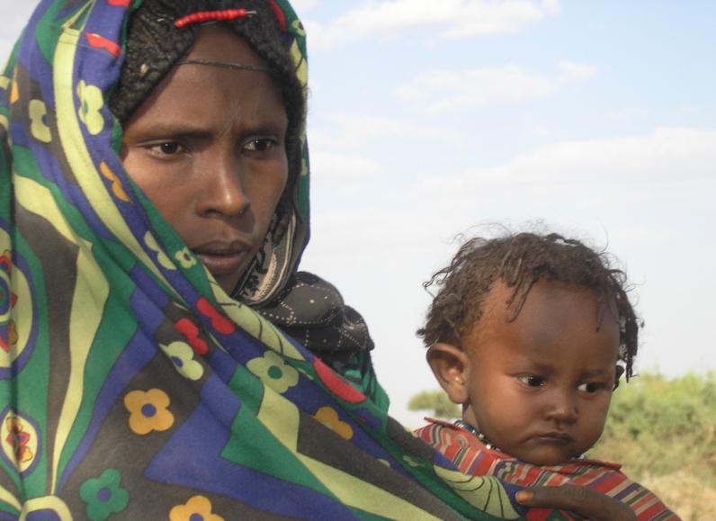 Äthiopien, AFAR, Impressionen, Menschen