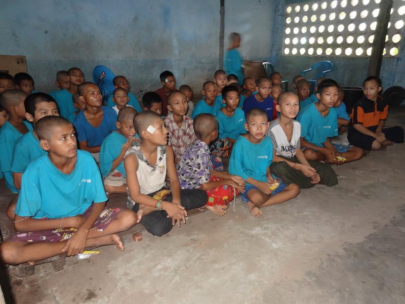Die Kinder im YCDC