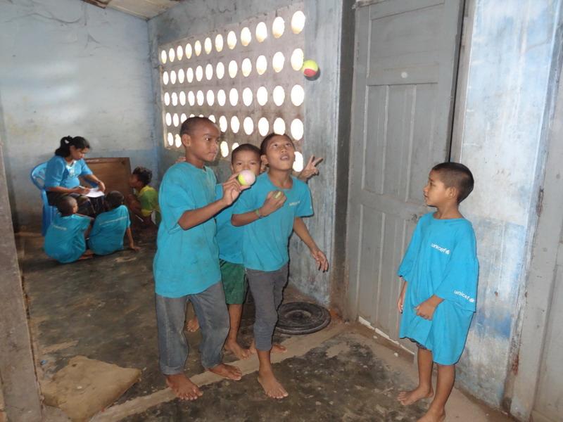 Versteckte Talente: wer hätte gedacht wie gut diese Kids jonglieren können?