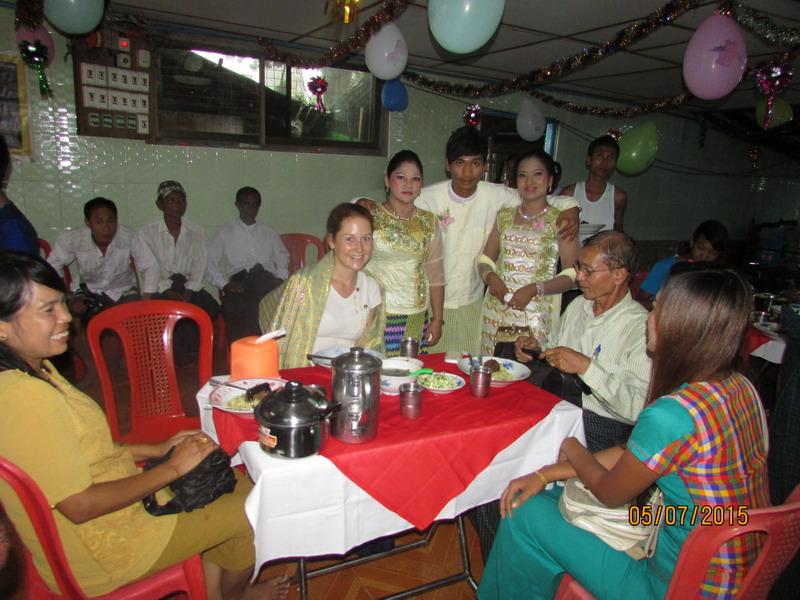Hochzeit auf burmesisch...