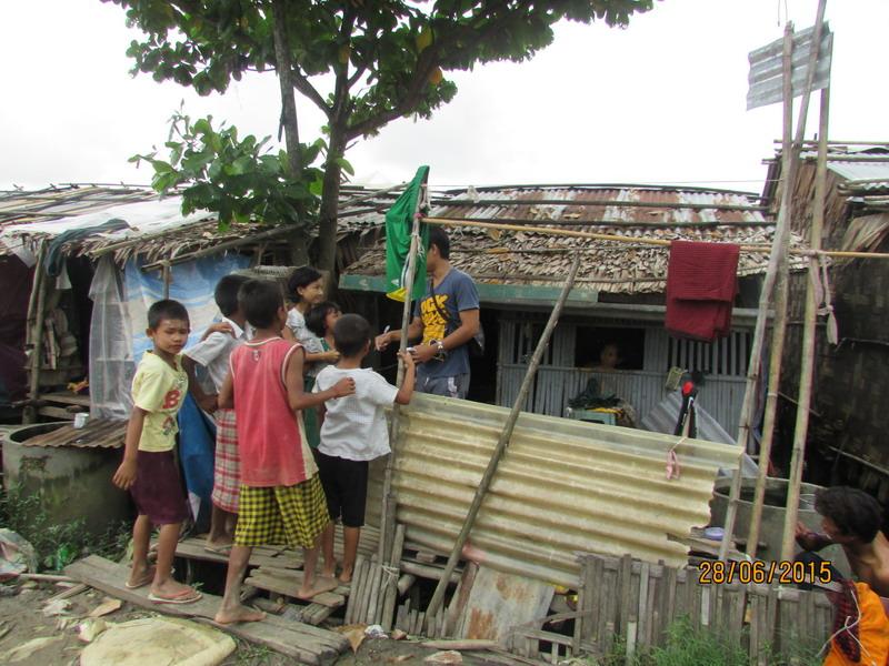 ...sondern wir erhalten auch einen kleinen Einblick in die Lebenswelten der Kinder und Familien.