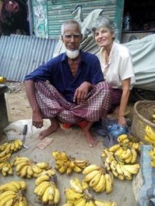 Mein sehr netter Bananenverkäufer