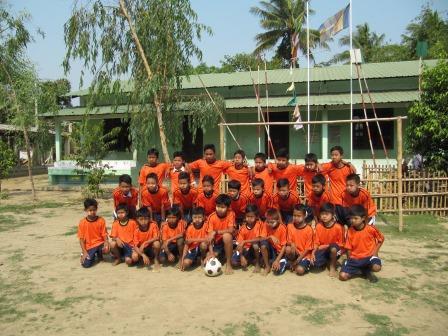 Unser SONNE-Fußballteam