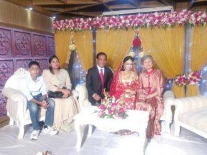 Bei der moslemischen Hochzeit in Dhaka